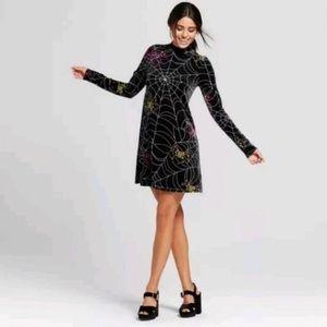 Xhilaration Velvet Spider Dress
